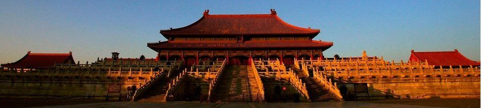 The Hall of Supreme Harmony in Beijing's Forbidden City on 5 January 2005 in Beijing, China.