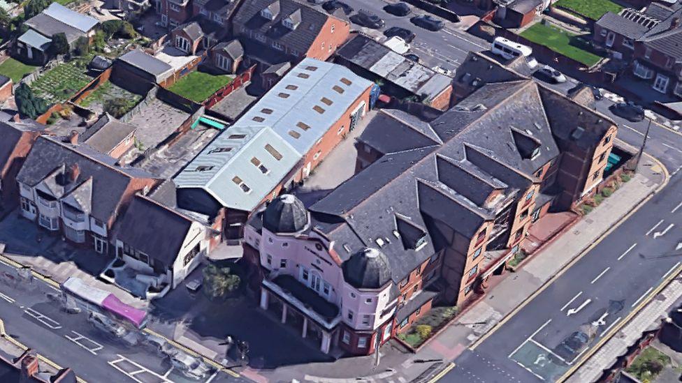 Overhead shot of Imam Muhammad Adam Institute