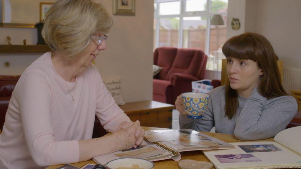 Ruth and her mum