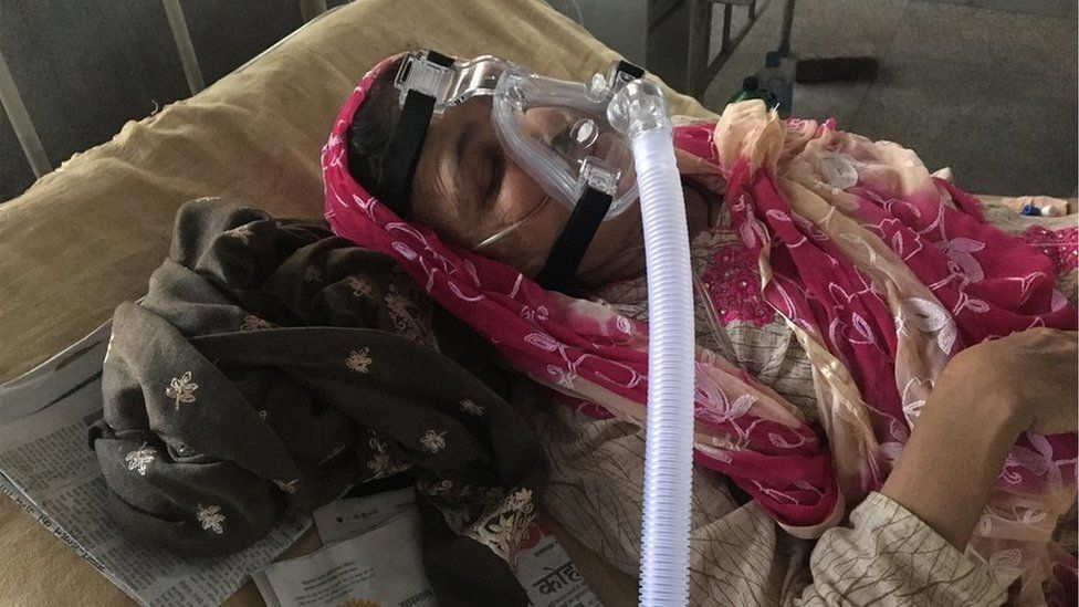 Nasreen Begum has been in and out of the hospital since 2015