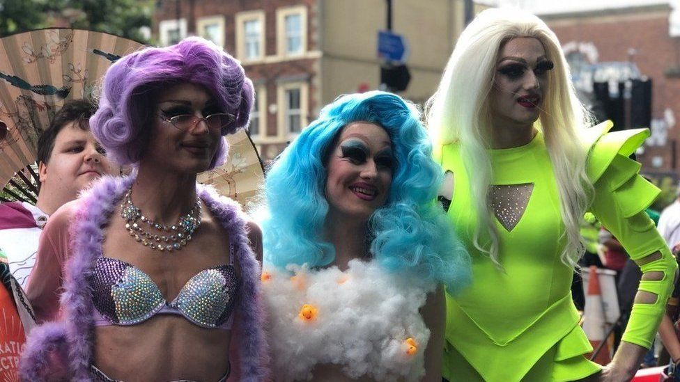 Revellers at last year's Pride event in Newcastle