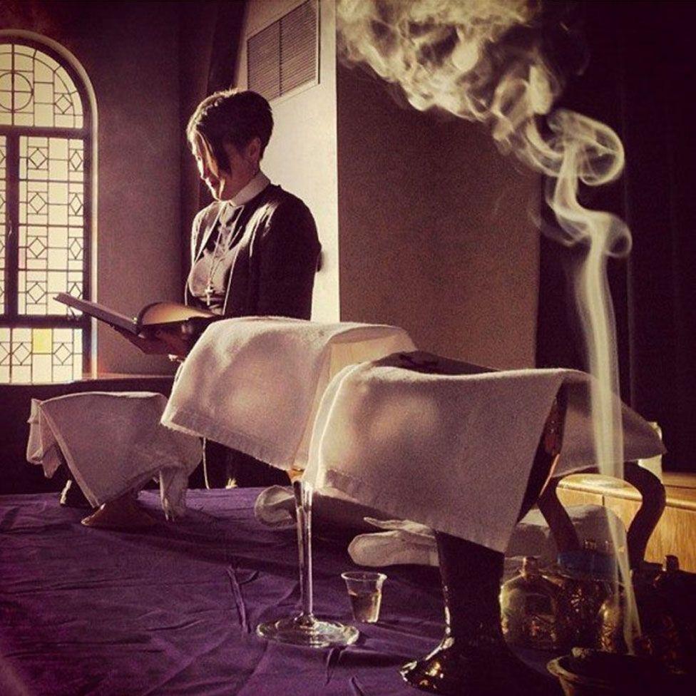 Incense in church