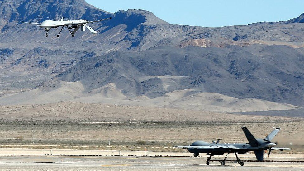 Creech Air Force Base drones