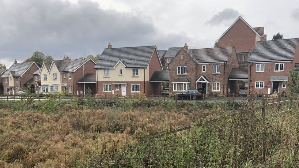 Church Meadow estate, in Bromsgrove