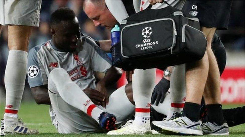 Naby Keïta, blessé, hors des terrains pendant deux mois