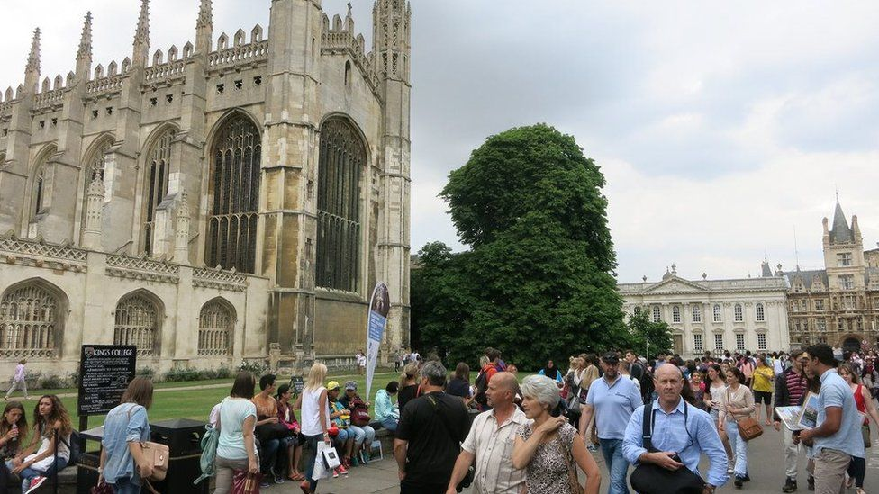Cambridge King's Parade 'possible terror target'