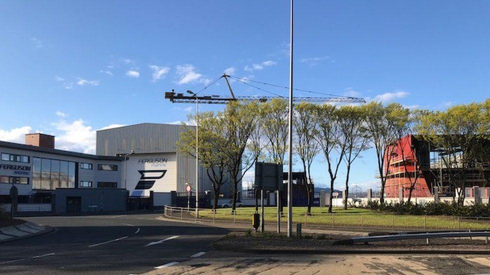 Ferguson shipyard