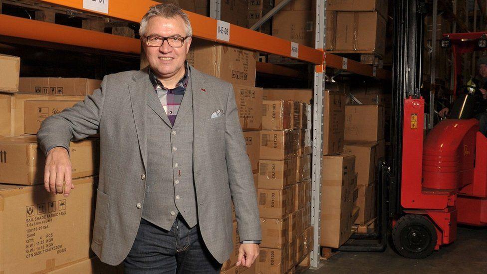 Stephen Britt, Anchor Storage