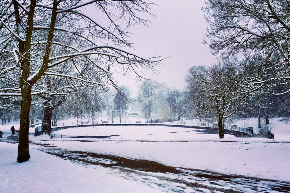 Image of Christchurch park in Suffolk