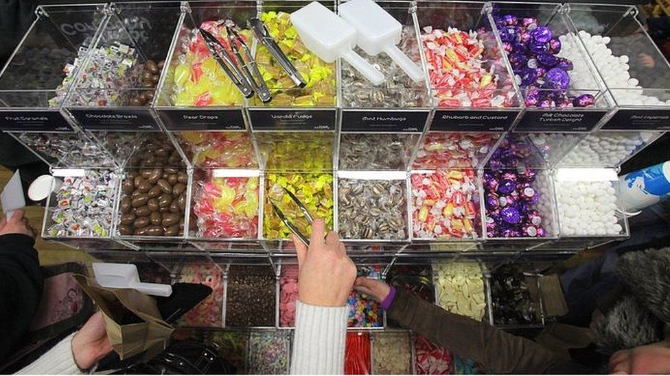 Generic picture of a pick'n'mix selection
