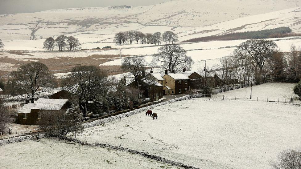 Peak District in January