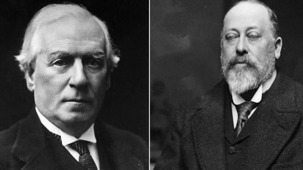 Herbert Asquith and Edward VII