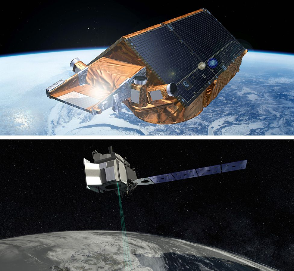 CryoSat-2 and IceSat-2