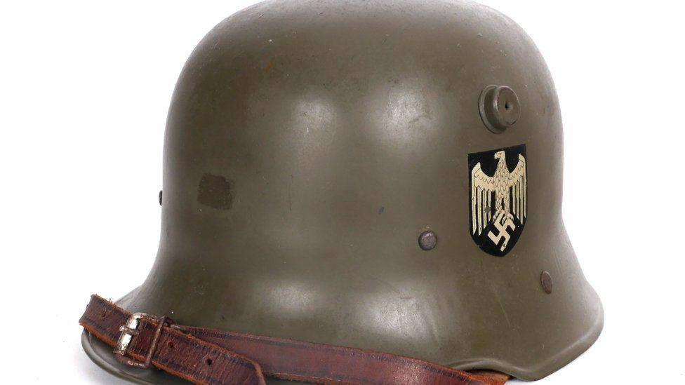 Child's helmet from the Third Reich era