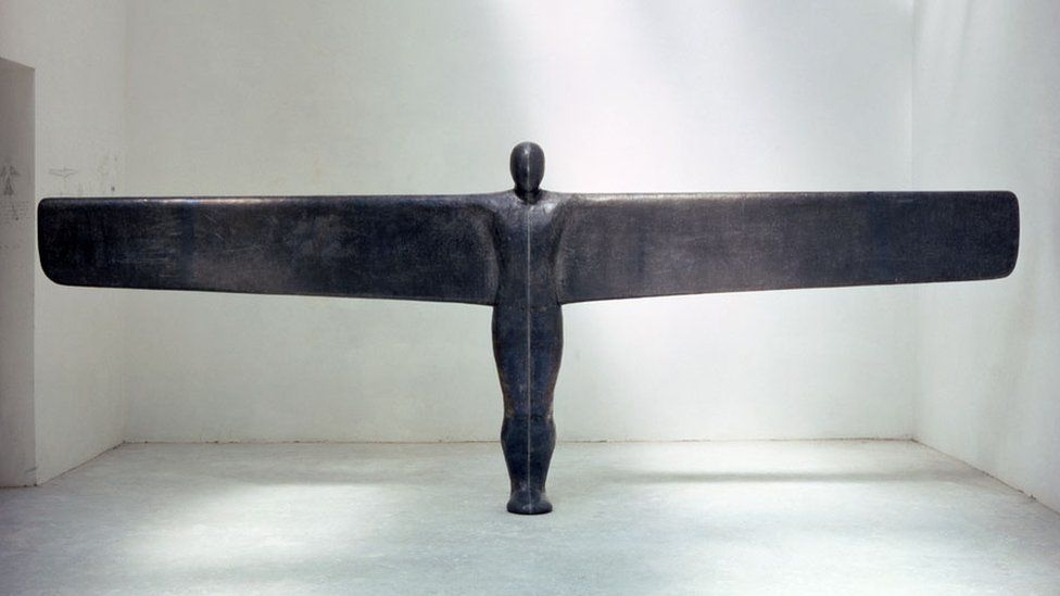 A Case For An Angel III - Plaster, fibreglass, lead, steel and air - Tate Collection, London