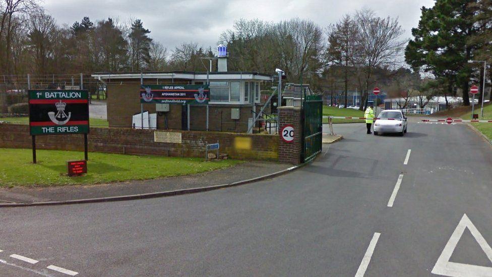 Beachley Barracks in Gloucestershire