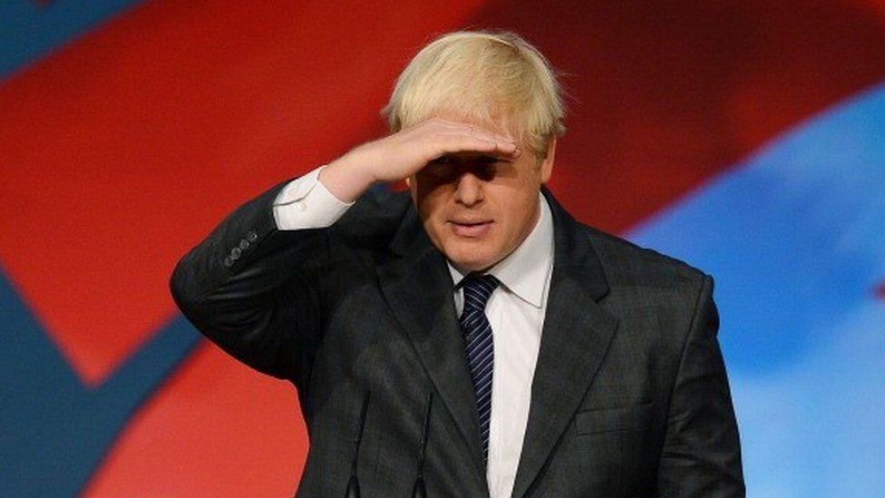 Boris Johnson at Conservative conference 2012