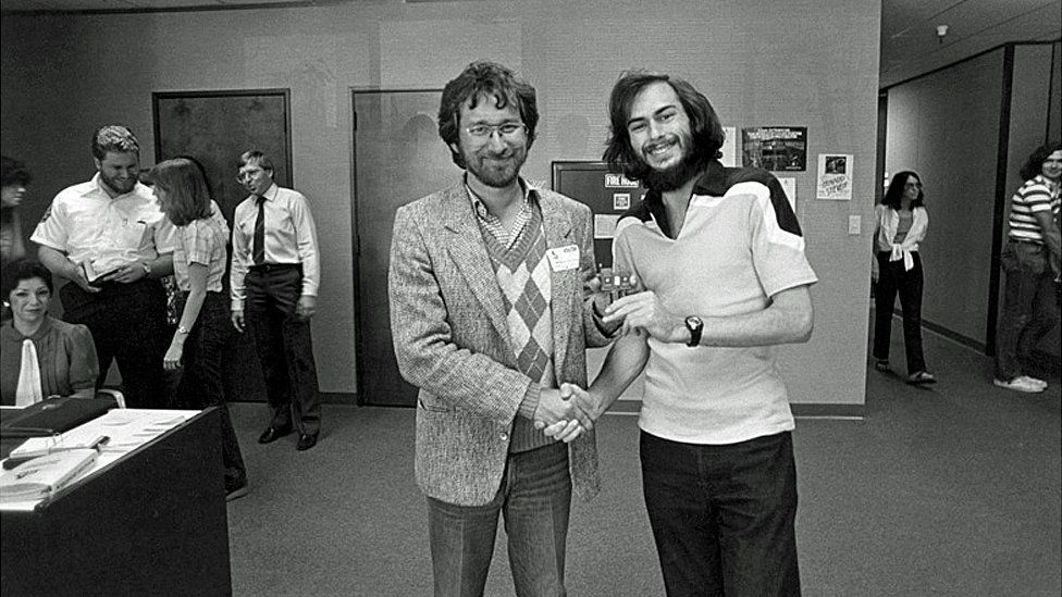 Steven Spielberg and Howard Scott Warshaw