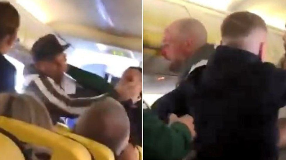 Ryanair fight
