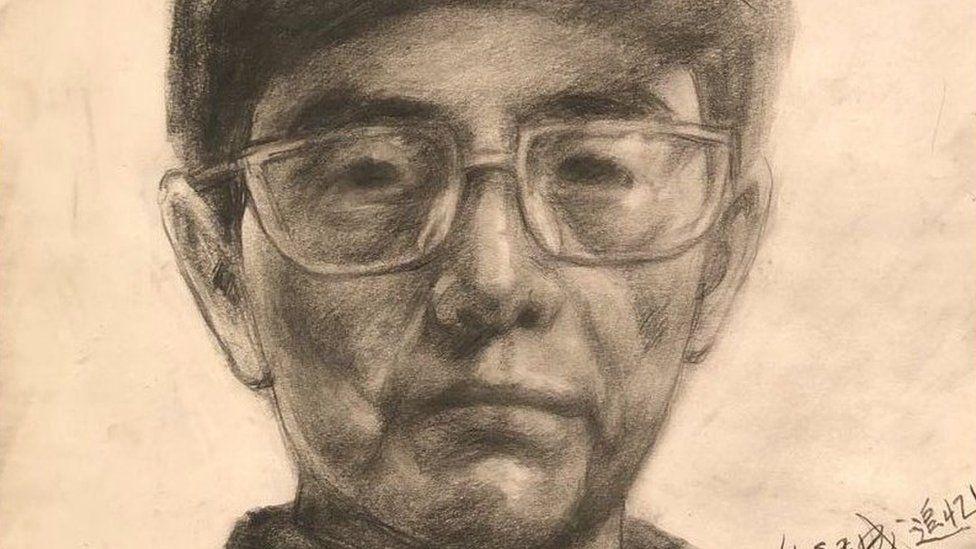portrait of Leng Hongsheng