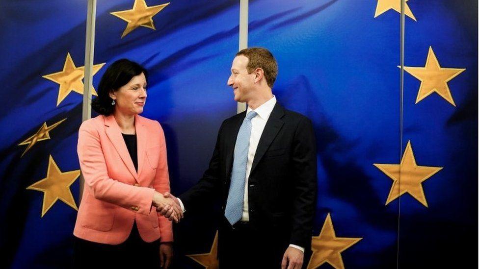European Commission vice president Vera Jourova