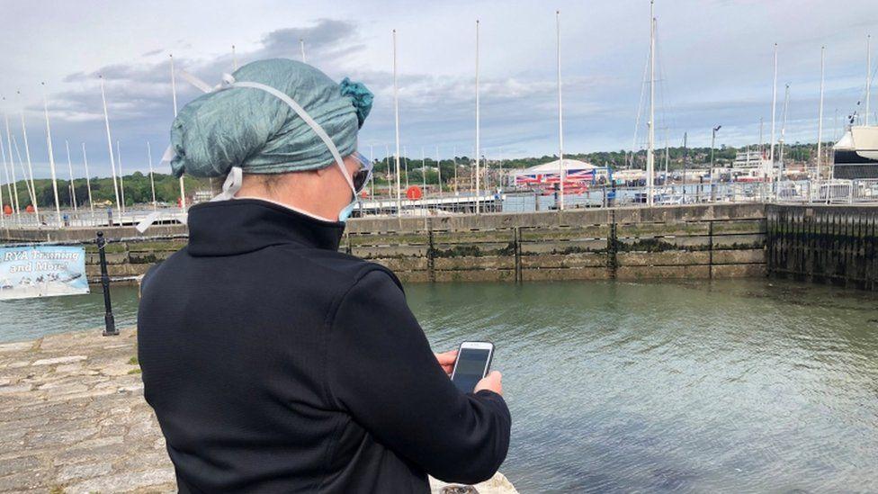 App on Isle of Wight