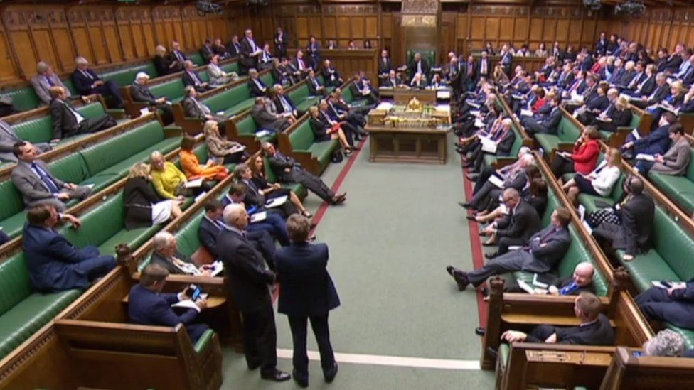 House of Commons, 1 April 2019
