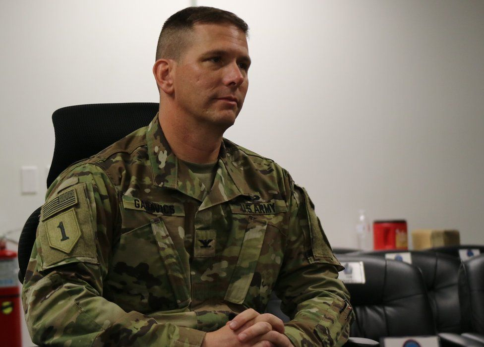 Colonel Steve Gabavics, Commander of the Joint Detention Force at Guantanamo Bay