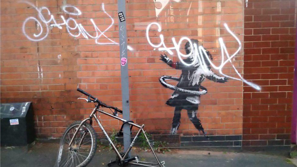 Banksy vandalism