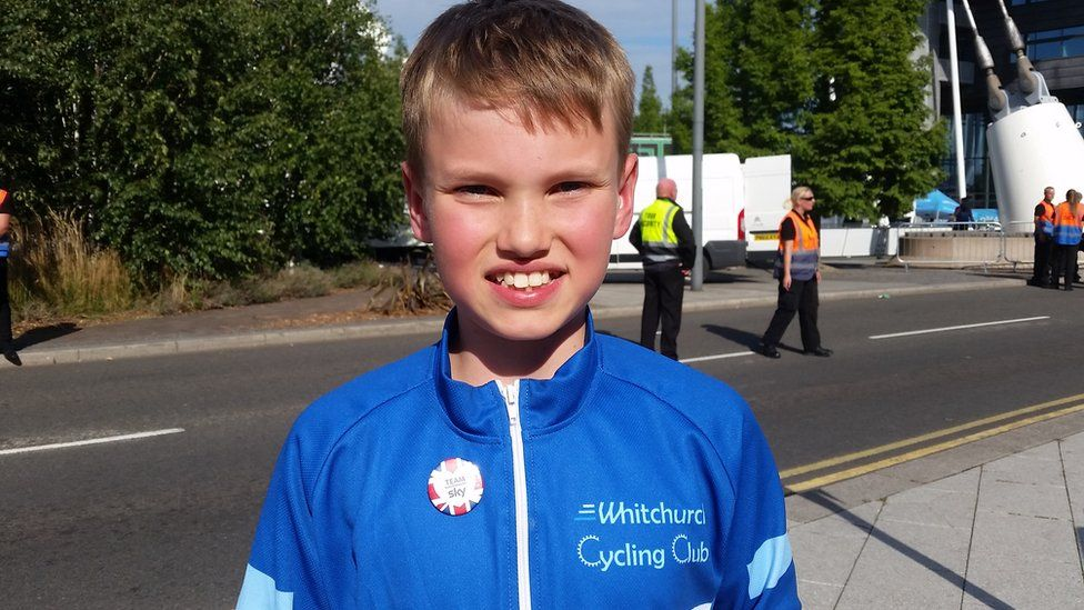 Dylan Donovan of Whitchurch Cycling Club