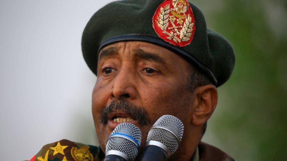 Sudanese military leader Abdel Fattah al-Burhan
