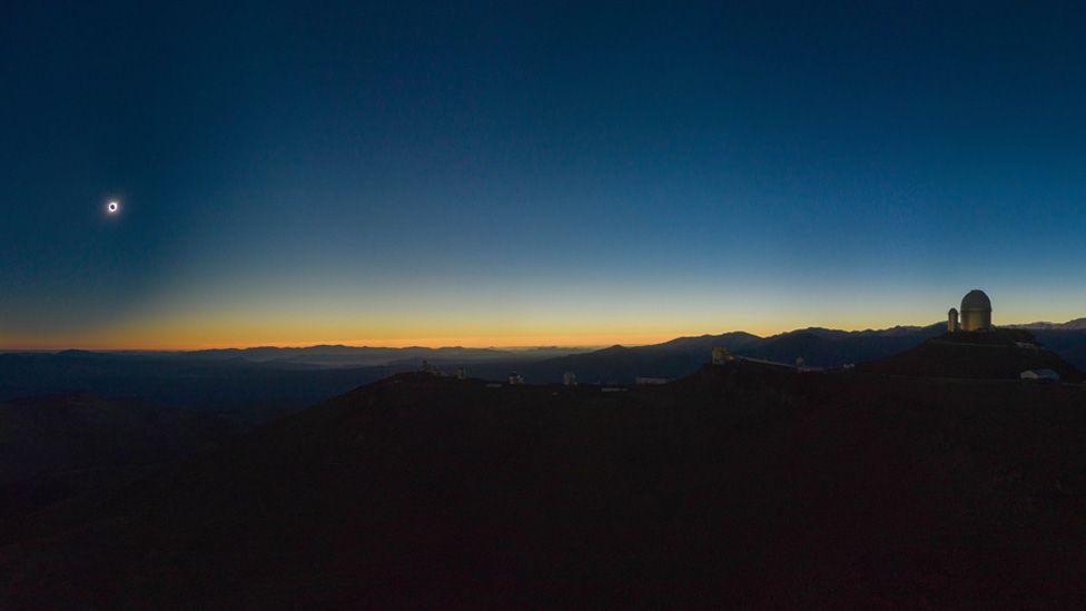 Chile's eclipse
