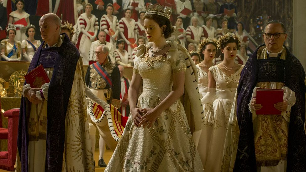 Claire Foy in The Queen