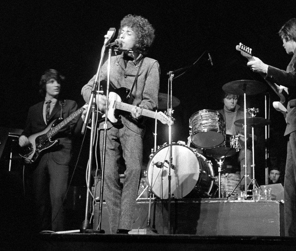 Bob Dylan at Manchester Free Trade Hall