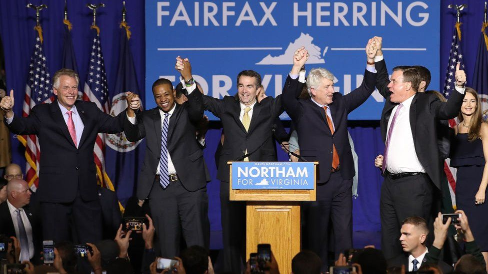 The state's top three Democratics are now all facing scandals