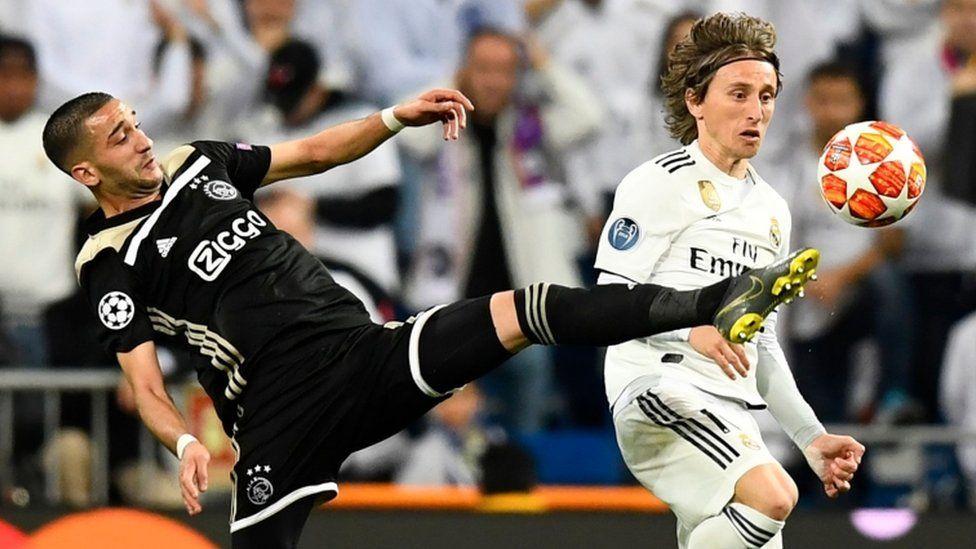 ريال مدريد يسقط في ملعبه أمام أياكس امستردام وتوتنهام يتأهل في ألمانيا بدوري أبطال أوروبا