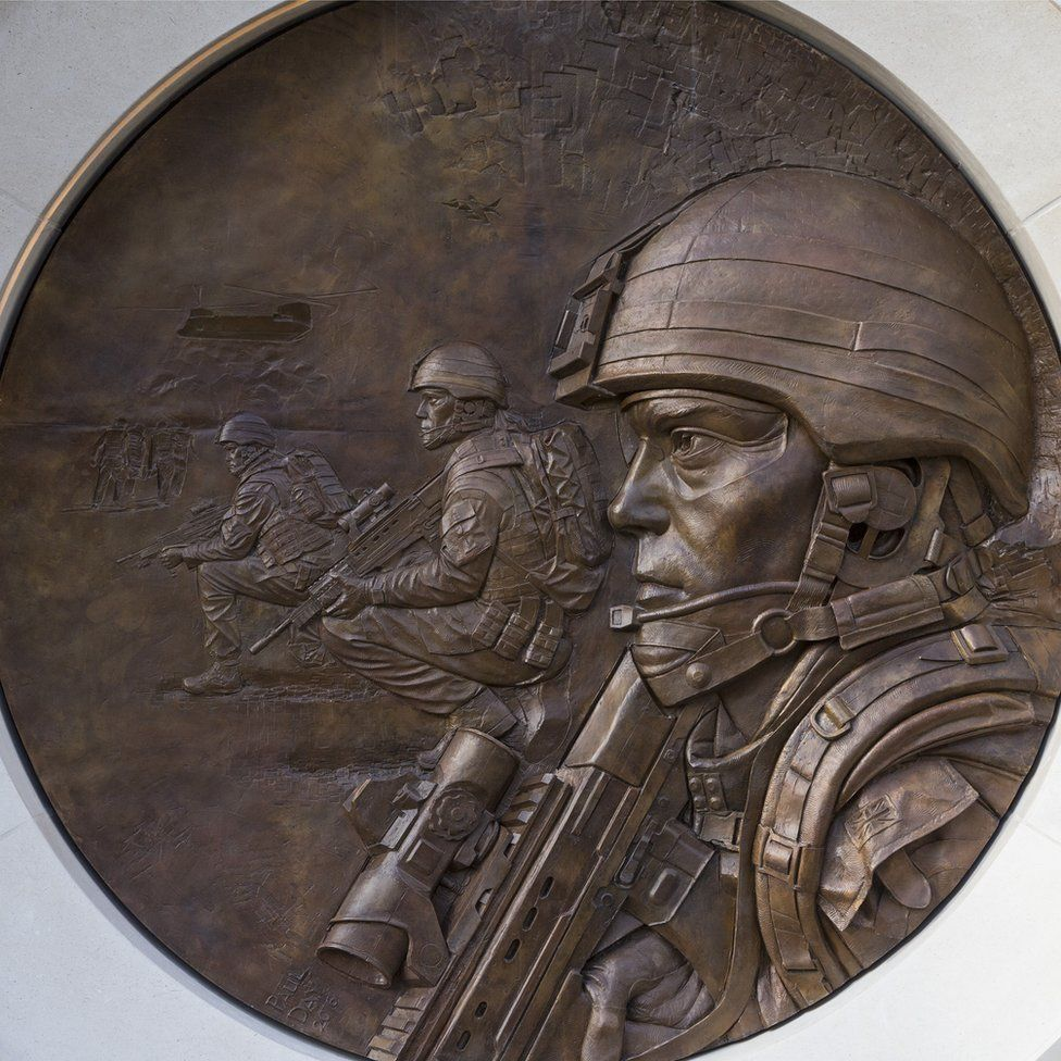 Paul Day memorial sculpture