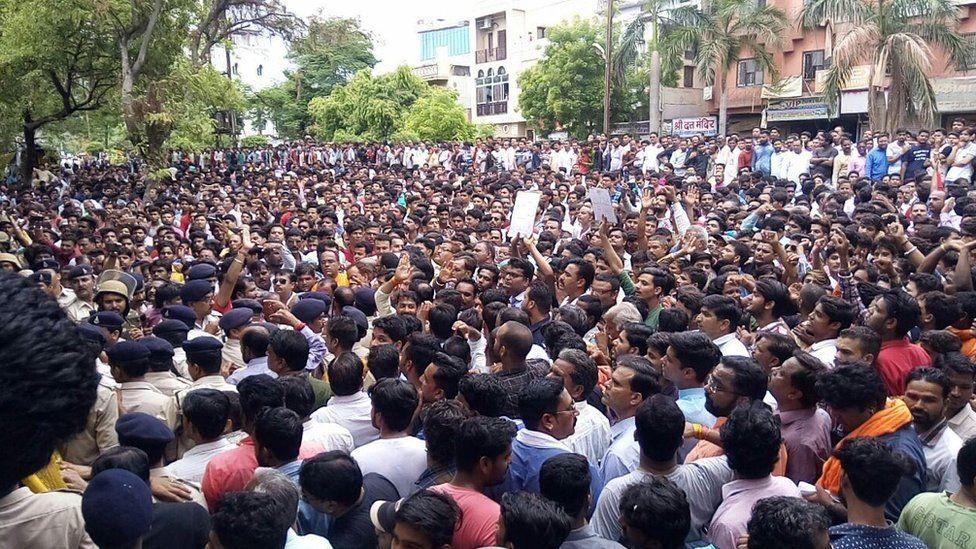 protests in Madhya Pradesh