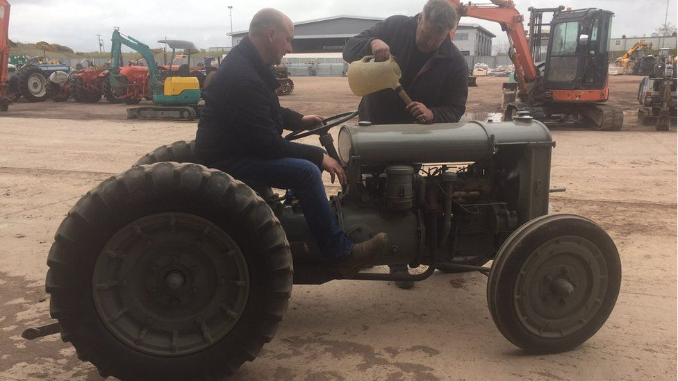 Ferguson Brown tractor