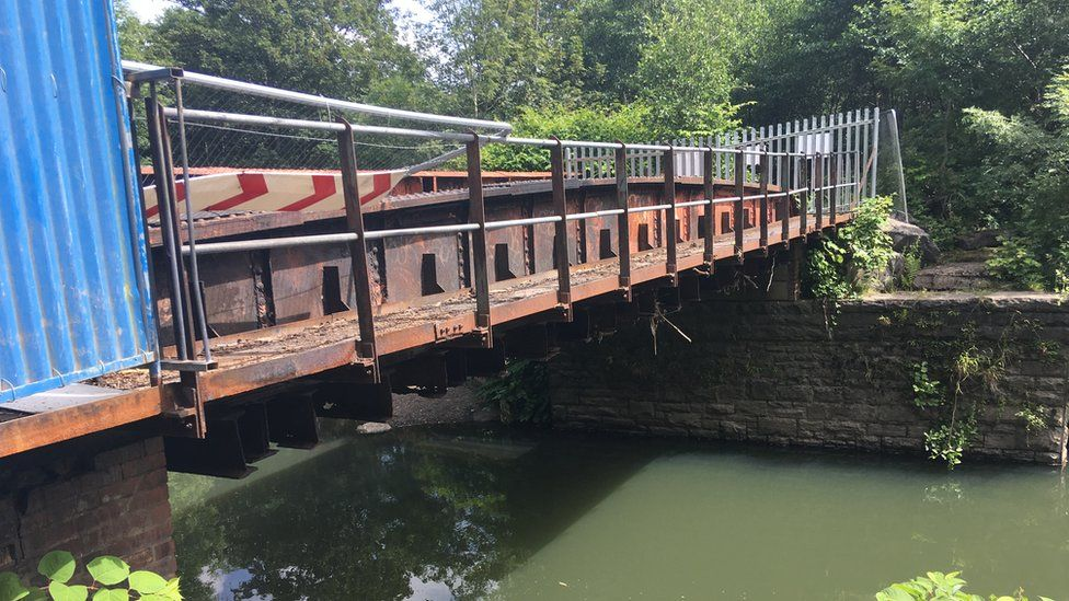 A bridge over the river Cynon
