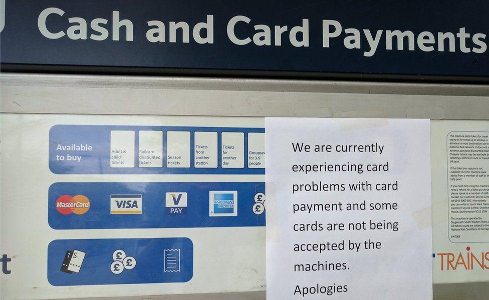 Winchester ticket machine