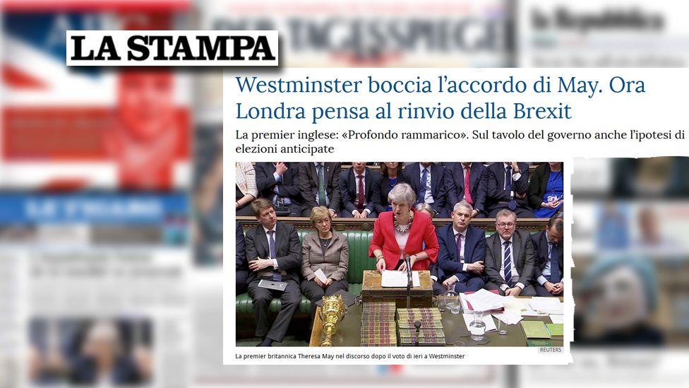 La Stampa screengrab