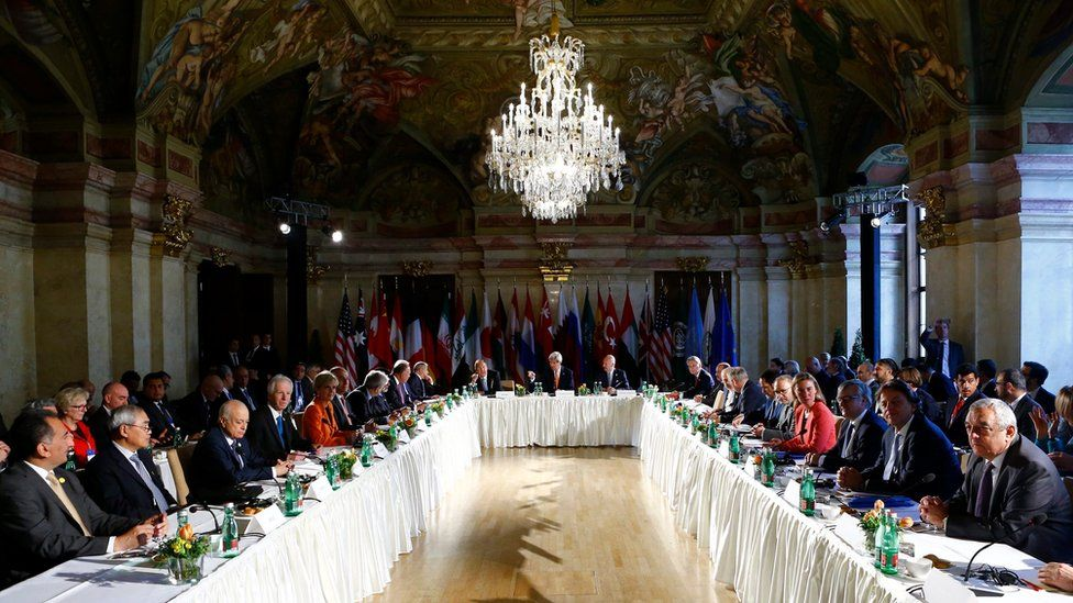 International Syria Support Group (ISSG) meeting in Vienna (17 May 2016)