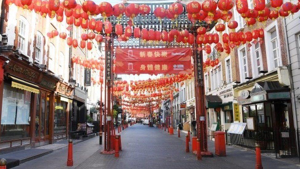 Chinatown empty