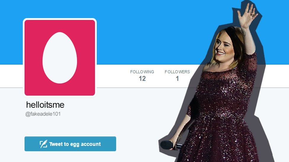 adele account mock-up