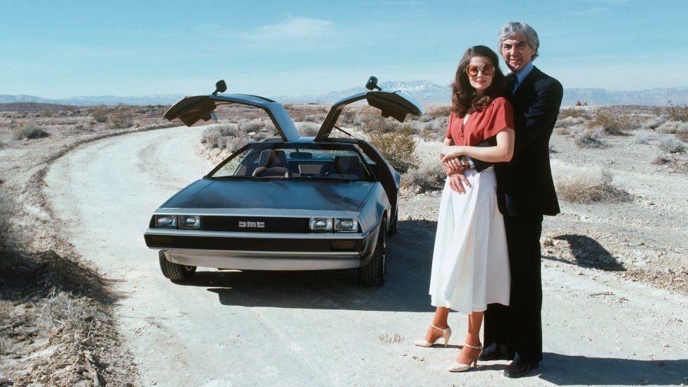 John DeLorean and his wife fashion model Christina Ferrare