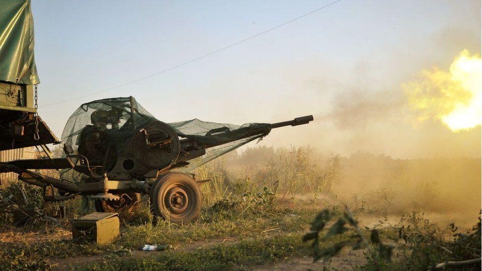 Fighting near Ilovaisk
