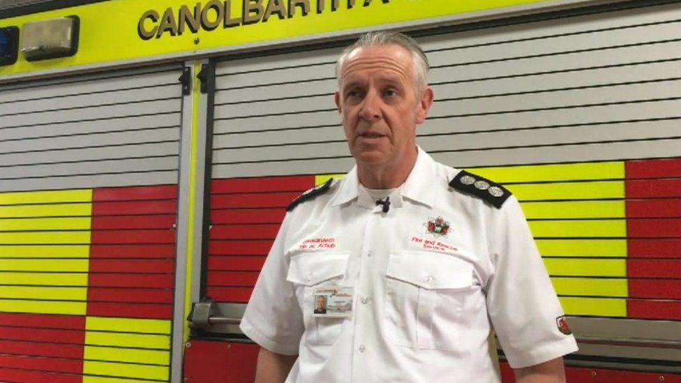 Port Talbot Station Manager Conrad Cole