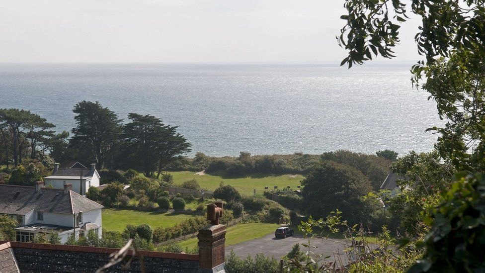 View from Manor House in Horton