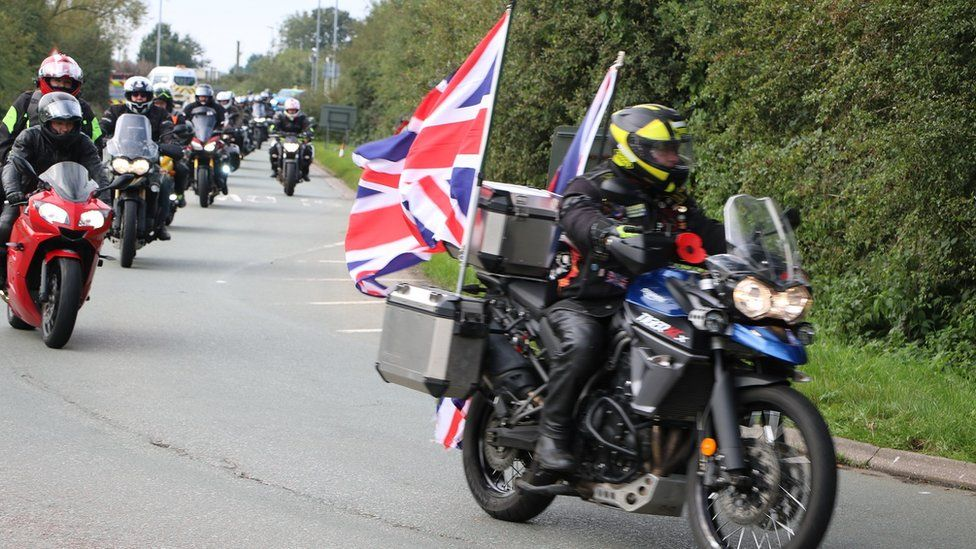 Ride to the Wall at National Memorial Arboretum attracts 7,000 bikers